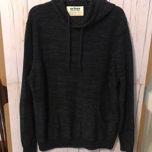 Urban Pipeline Men/'s Pullover Hoodie Black Size L Retails $50 NWT Brand New